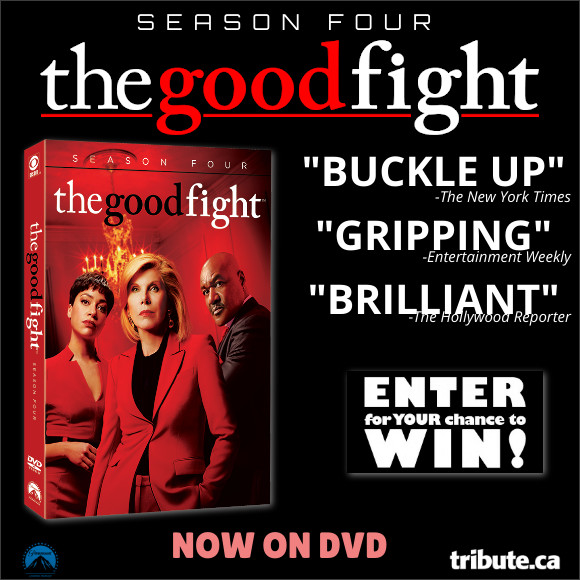 Enter for your chance to win Season Four of THE GOOD FIGHT Available now on DVD.