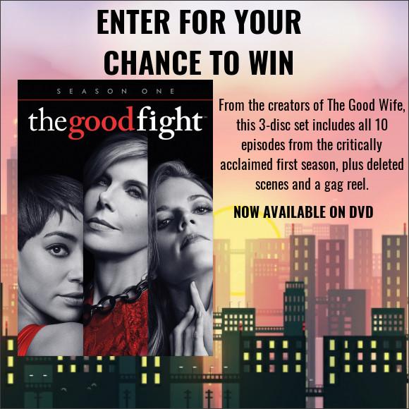 The Good Fight Season One DVD contest
