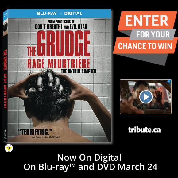 THE GRUDGE Blu-ray contest