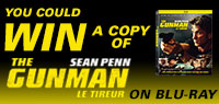 Win The Gunman on Blu-ray