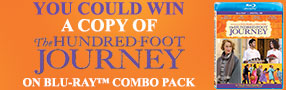 Enter to win a copy of The Hundred-Foot Journey Blu-ray Combo Pack