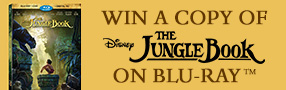 Enter to win a copy of The Jungle Book on Blu-ray Poster