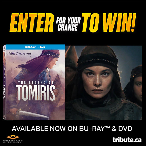 THE LEGEND OF TOMIRIS Blu-ray Contest