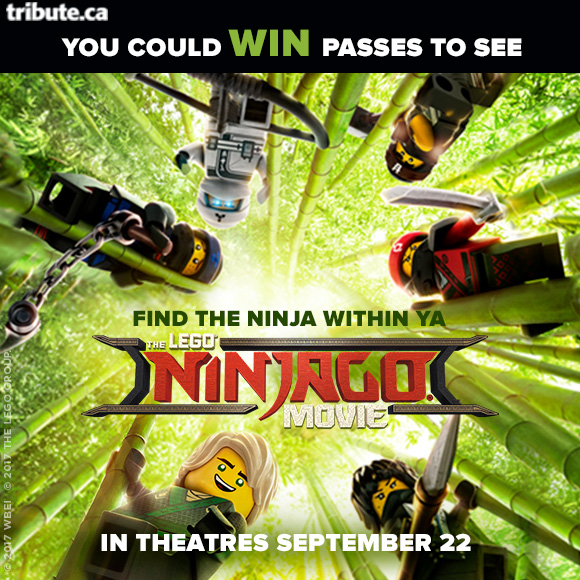 The Lego Ninjago Movie Pass contest