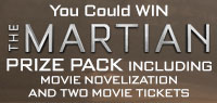 Win The Martian Prize Pack and two movie tickets