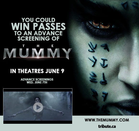 The Mummy Advance Screening and Passes contest