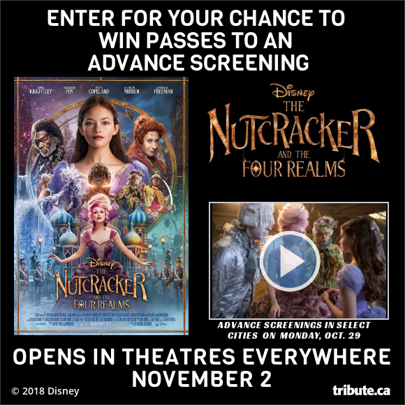 THE NUTCRACKER AND THE FOUR REALMS Advance Screening Contest