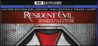 THE RESIDENT EVIL Collection On 4K ULTRA HD Contest