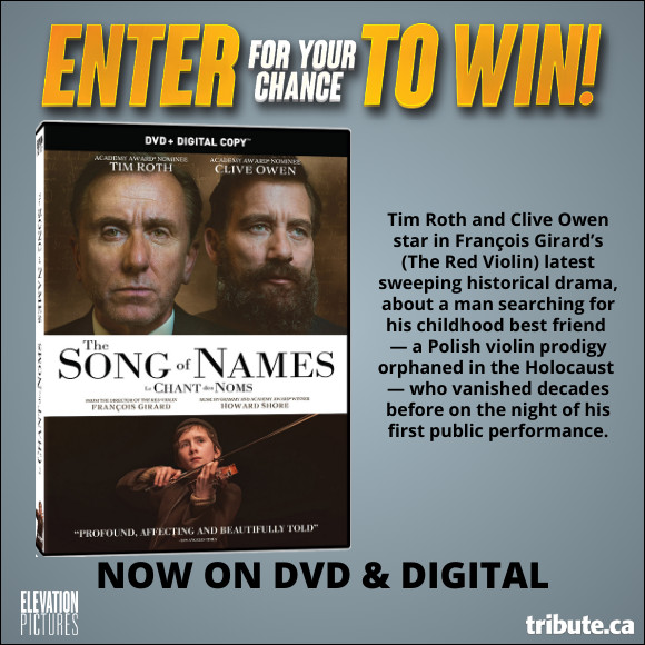 THE SONG OF NAMES DVD contest