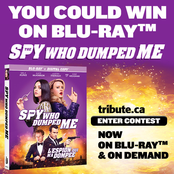 THE SPY WHO DUMPED ME Blu-ray contest