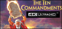 THE TEN COMMANDMENTS 4K ULTRA HD Contest