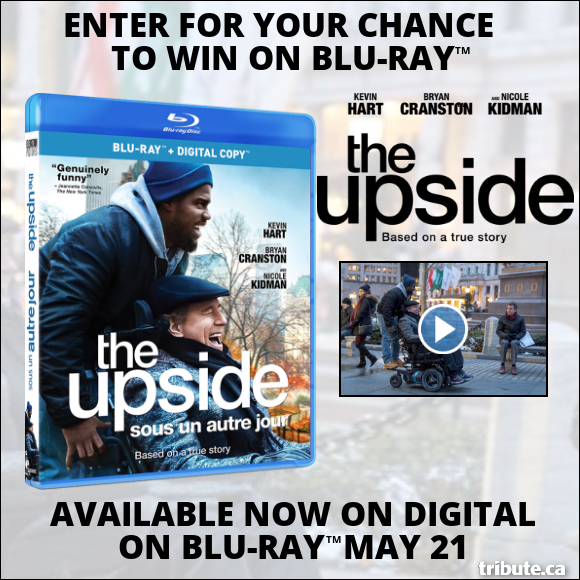 THE UPSIDE Blu-ray contest
