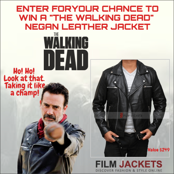 online contests, sweepstakes and giveaways - THE WALKING DEAD NEGAN LEATHER JACKET contest