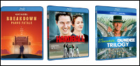 THREE MOVIE Blu-Ray Collection Contest