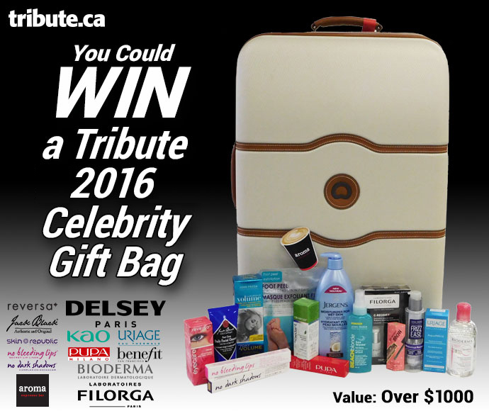 Win a 2016 TIFF Celebrity Gift Bag