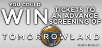Win Advance Screening tickets to see Tomorrowland