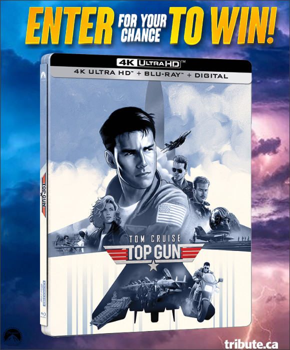 Enter for your chance to win TOP GUN on 4K UHD/Blu-ray Combo Steelbook.