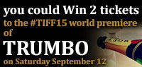 Celebrate with Moet & Chandon and win 2 tickets to the world premiere premium screening of Trumbo