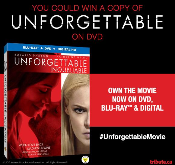 Unforgettable Blu-ray contest