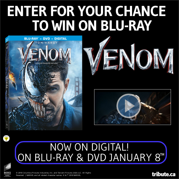 VENOM Blu-ray contest