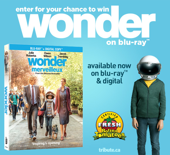 Wonder Blu-ray contest