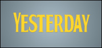 "Enter for your chance to win ""YESTERDAY"" on Blu-ray. Now On Digital, On Blu-ray Sept. 24"