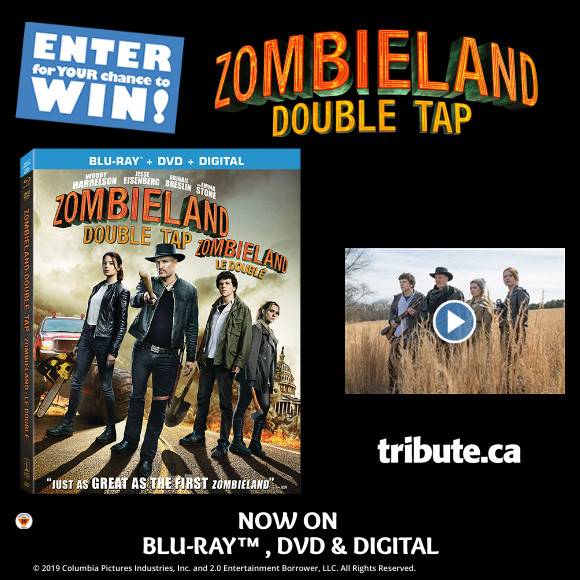 ZOMBIELAND: DOUBLE TAP Blu-ray contest