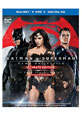 Batman v Superman: Dawn of Justice on DVD cover
