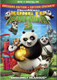 Kung Fu Panda 3 on DVD cover