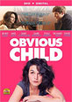 Obvious Child on DVD