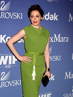 Rose McGowan is engaged