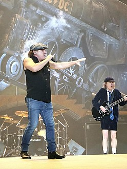 AC/DC in action