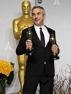 Alfonso Cuarón at the Oscars