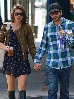 Alyssa Miller and Jake Gyllenhaal