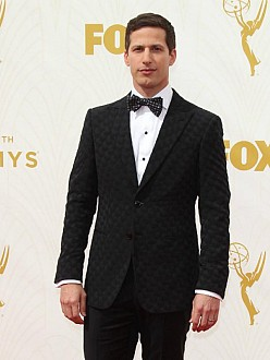 Andy Samberg at the 67th annual Emmy Awards