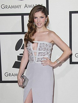 Anna Kendrick at the Grammy Awards