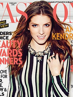 Anna Kendrick on FASHION magazine