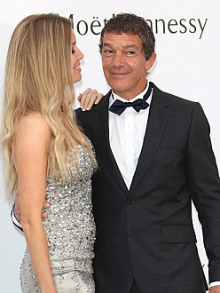 Antonio Banderas and Nicole Kimpel