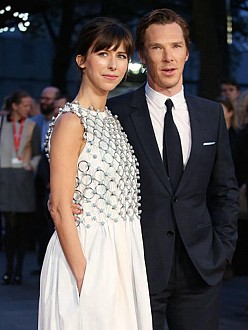 Benedict Cumberbatch and his wife Sophie