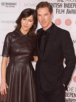 Benedict Cumberbatch and Sophie Hunter at the British Independent Film Awards