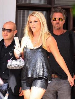 Britney spears upskirt today at court