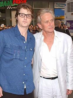 Cameron and Michael Douglas