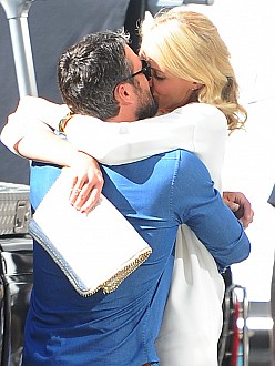 Cameron Diaz and Taylor Kinney film The Other Woman