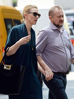 cate blanchett s family besotted with baby celebrity