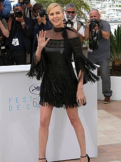Charlize Theron in Cannes