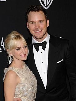 Chris Pratt and wife Anna Faris