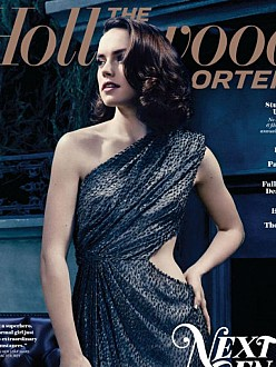 Daisy Ridley on the cover of The Hollywood Reporter