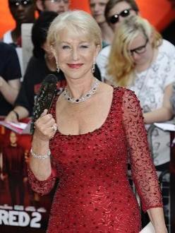 Dame Helen Mirren at RED 2 premiere