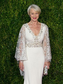 Dame Helen Mirren at the 2015 Tony Awards