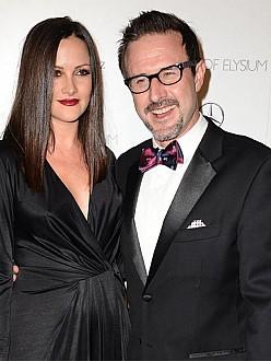 David Arquette and Christine McClarty